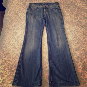 7 for all mankind - bell seventies flare jeans